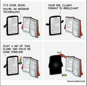 ebook vs physical book